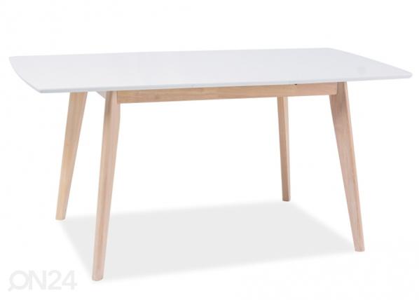 Jatkettava ruokapöytä COMBO II 75x120-160 cm