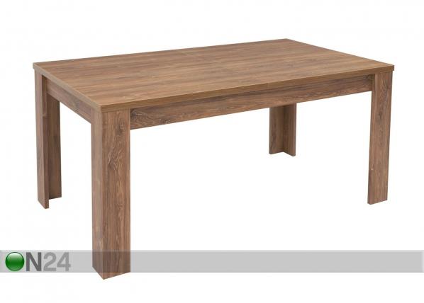 Jatkettava ruokapöytä FELICIO 90x160-240 cm