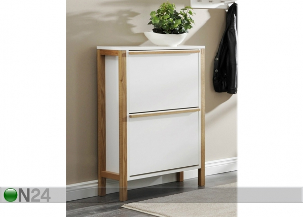 Jalkinekaappi NORTHGATE SHOE CABINET 2 DOOR COMPACT WO-85662