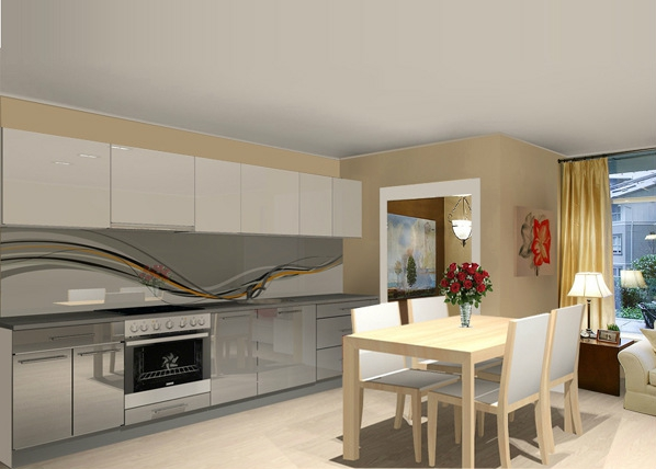 Baltest keittiö 305 cm
