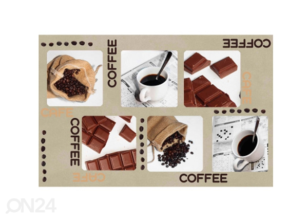 Lautasen alusta COFFEE AND CHOCOLATE 4 kpl