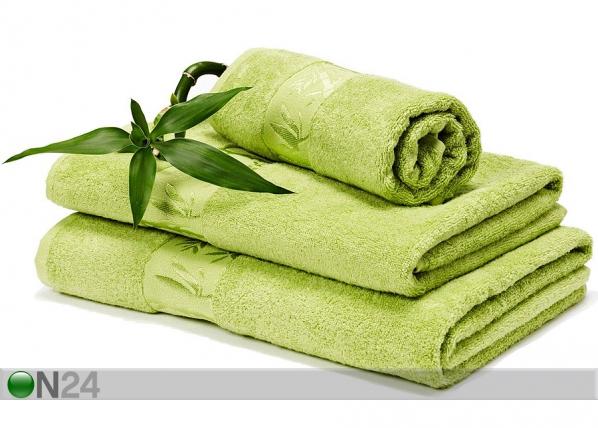 Bambu pyyheliinasetti vihreä