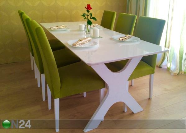 Ruokapöytä AIRE 80×180 cm