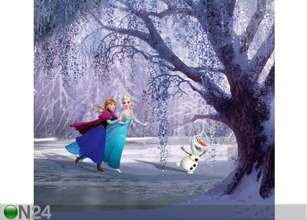Fotoverho DISNEY ICE KINGDOM 280x245 cm ED-87007