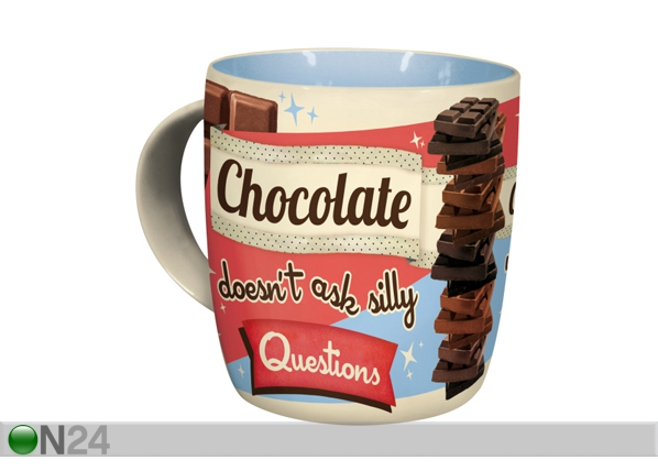 Muki CHOCOLATE DOESN´T ASK SILLY QUESTIONS