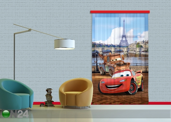 Fotoverho DISNEY CARS PARIS 140x245 cm ED-87183
