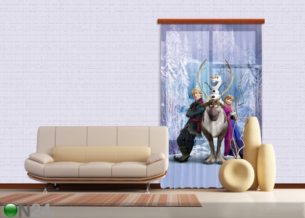 Fotoverho DISNEY ICE KINGDOM 140x245 cm ED-87186