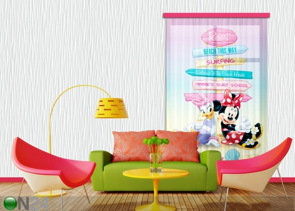 Fotoverho DISNEY DAISY AND MINNIE 140x245 cm ED-87188