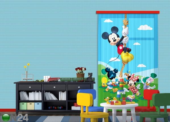 Fotoverho DISNEY MICKEY ON A ROPE 140x245 cm ED-87189