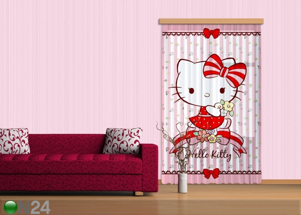 Fotoverho HELLO KITTY 140x245 cm ED-87203