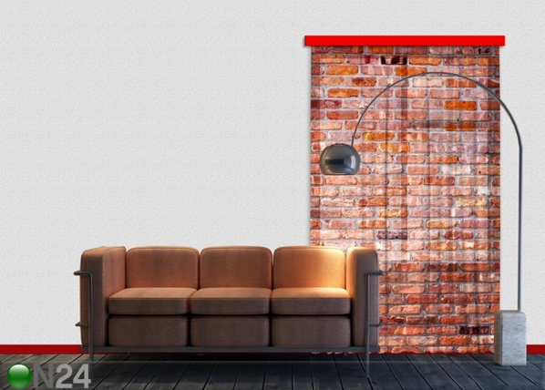 Fotoverho RED BRICKS 140x245 cm ED-87215