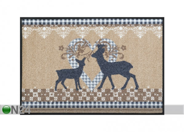 Matto LOVELY DEERS 50x75 cm A5-87256