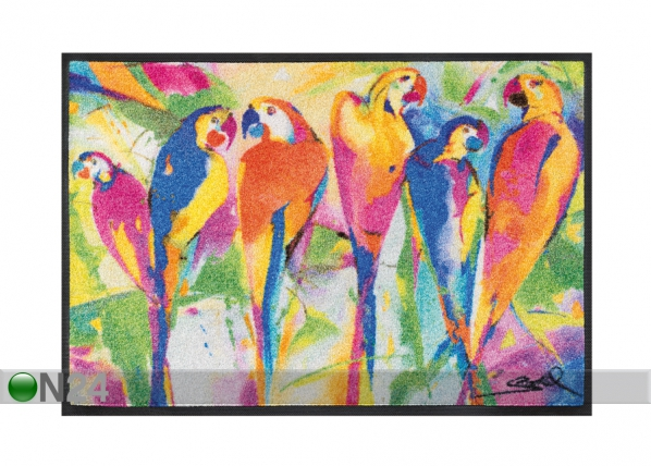 Matto PARROTS PARTY 50x75 cm A5-87616