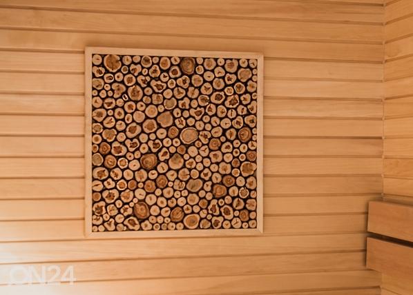 Kehystetty katajalevy 50x50 cm