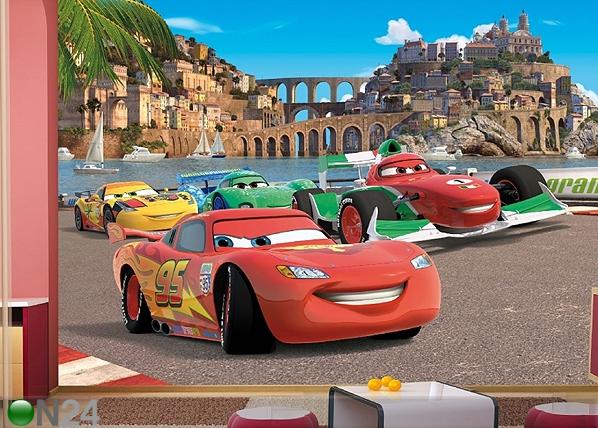 Kuvatapetti DISNEY CARS 2 RACE 360x254 cm