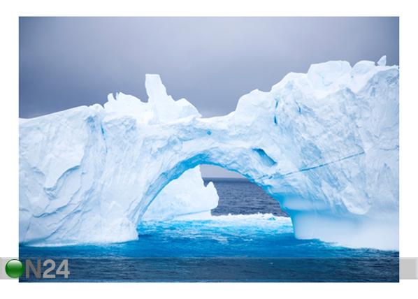 Kuvatapetti ARC OF ICE 400x280 cm