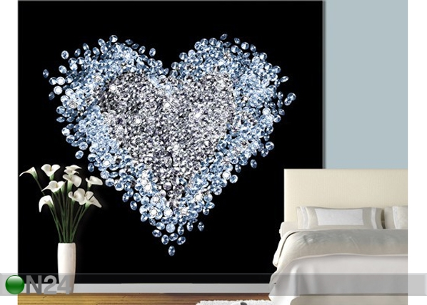 Kuvatapetti HEART OF DIAMOND 300x280 cm