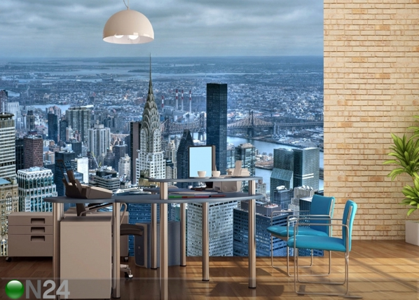 Fleece kuvatapetti EMPIRE STATE BUILDING 360x270 cm ED-90570