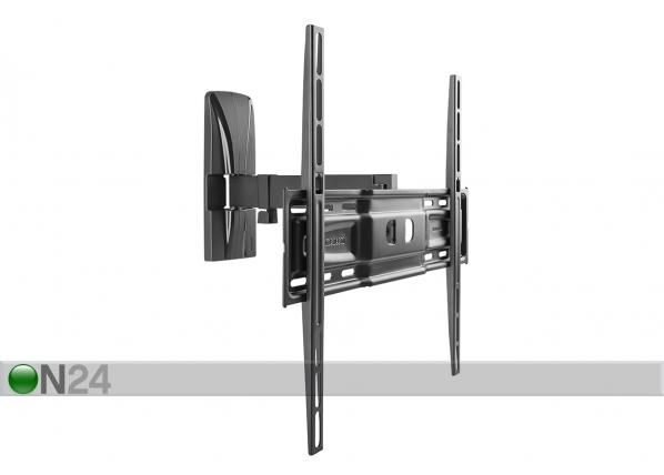 TV-seinäteline SlimStyle 400 SR musta