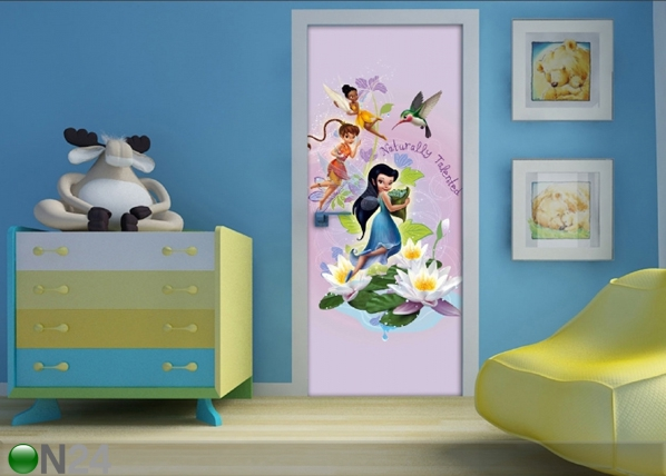Fleece kuvatapetti DISNEY FAIRIES 90x202 cm ED-91053