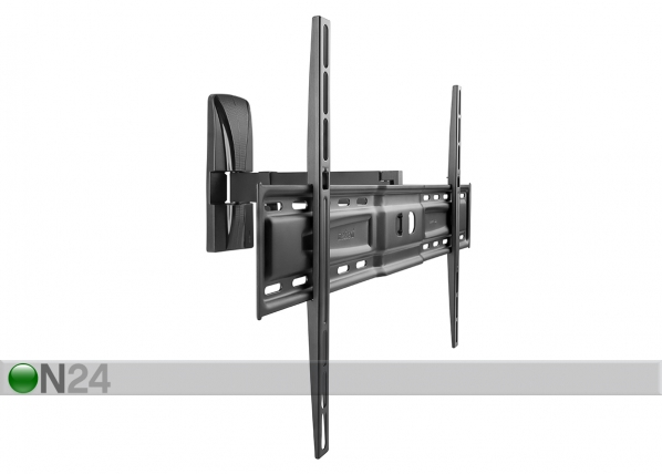 TV-seinäteline SlimStyle 600 SR musta
