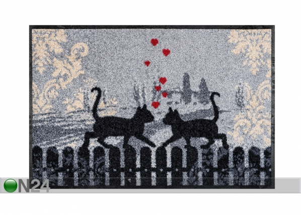 Matto CATS IN LOVE 50x75 cm A5-91483