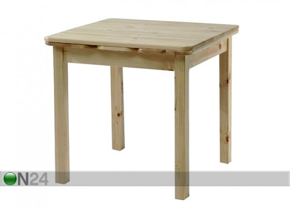 Jatkettava ruokapöytä SIIRI 77x77-135 cm