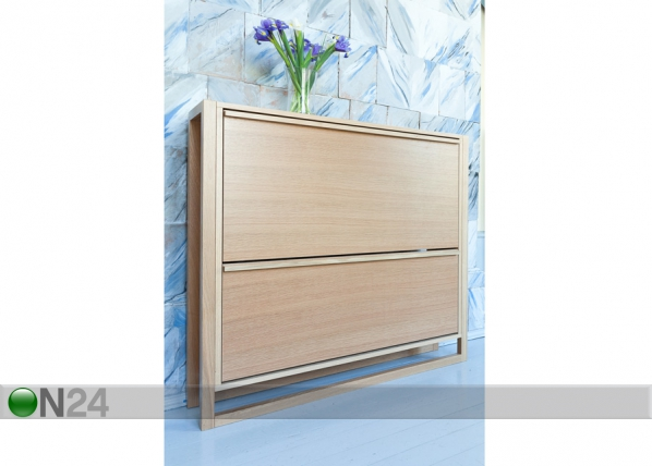 Jalkinekaappi NewEst SHOE CABINET 2 DOOR WO-92043