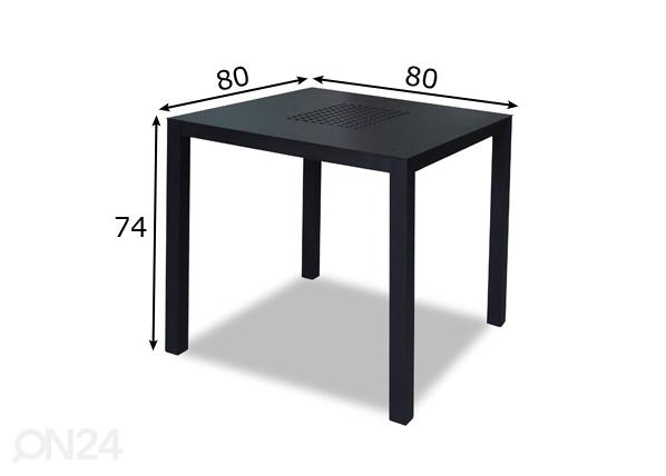 Puutarhapöytä VIPEX HOME