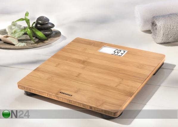Digitaalivaaka Soehnle Bamboo Natural