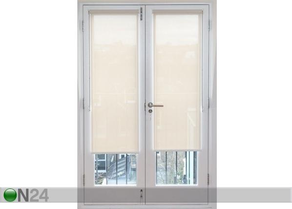 Parvekkeen oven rullaverho PERLA MAXI 90x240 cm