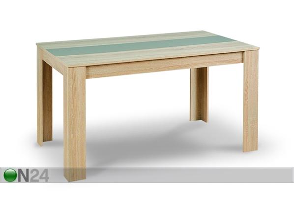 Ruokapöytä DOMUS 80,5×135 cm ON 96610  ON24 Sisustustavaratalo