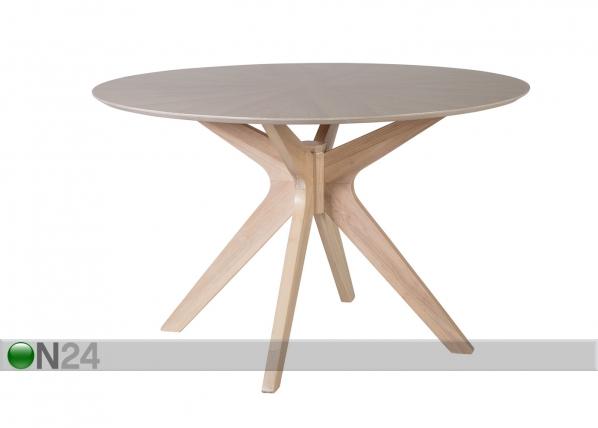Ruokapöytä JENNA Ø 120 cm