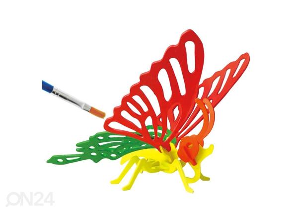 3D palapeli Värikäs perhonen