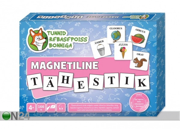 Eestin kieliset magneettikirjaimet