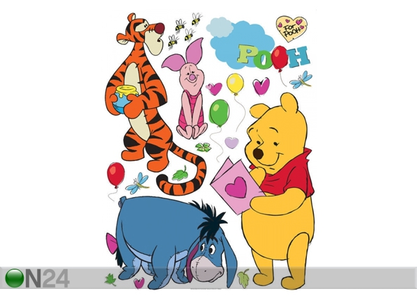 Seinätarra DISNEY WINNIE THE POOH AND FRIENDS 42,5x65 cm ED-98676