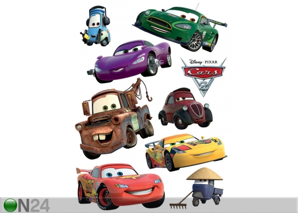 Seinätarra DISNEY CARS McQUEEN AND MATER 65x85 cm ED-98785