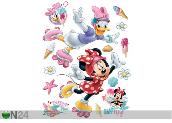 Seinätarra DISNEY MINNIE AND PONY 65x85 cm ED-98857