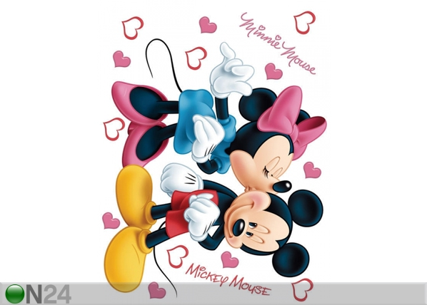 Seinätarra DISNEY MINNIE AND MICKEY'S 65x85 cm ED-98862