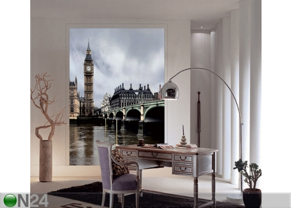 Fleece kuvatapetti LONDON BIG BEN 180x202 cm ED-99124
