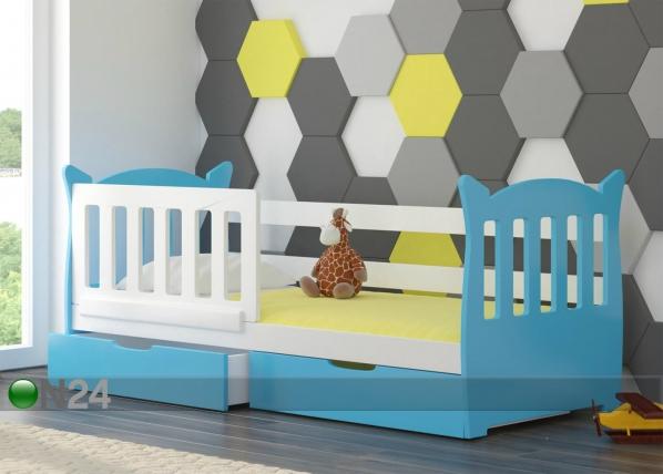 Lasten sänkysarja 75x160 cm