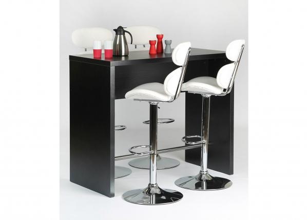 Baaripöytä 120x60 cm, musta