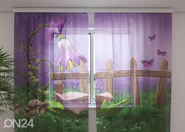 Sifonki-kuvaverho FAIRY SHOWER 240x220 cm ED-99928