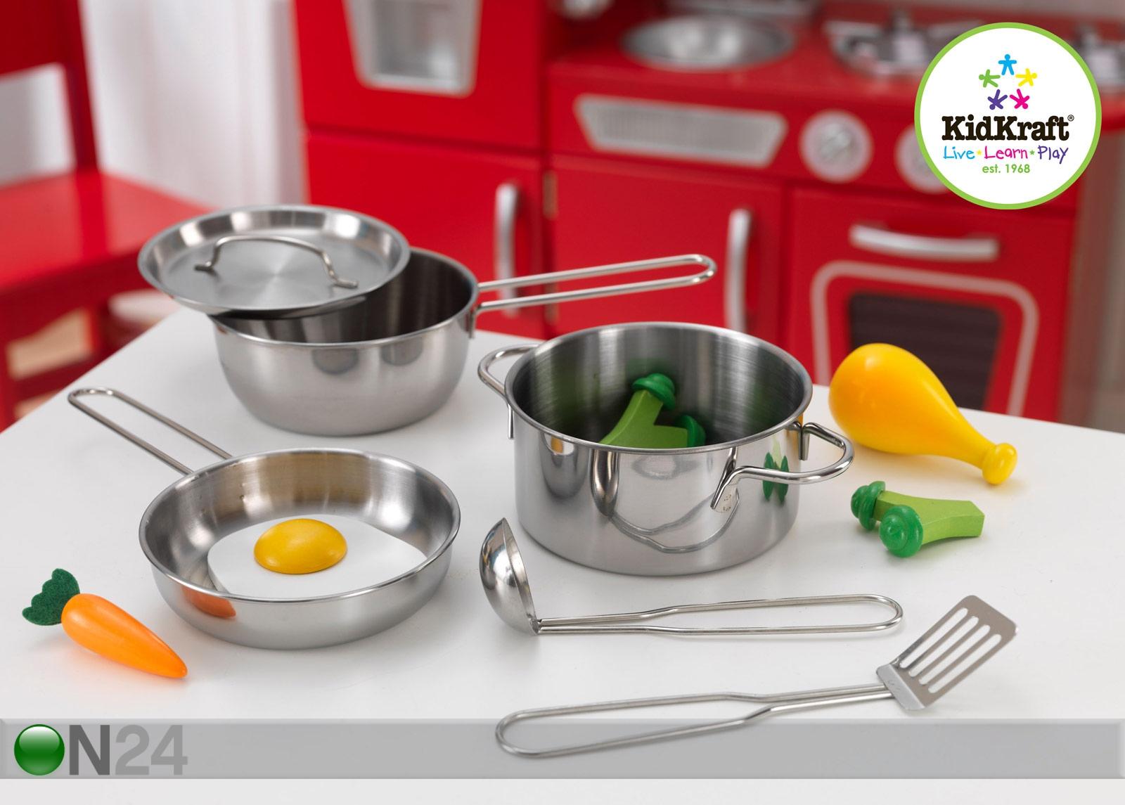 Keittiötarvikkeet ja leluruokasetti KidKraft DELUXE AU