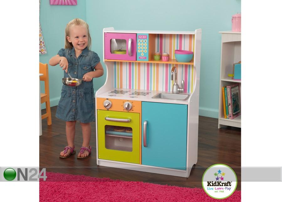 Pieni, värikäs leikkikeittiö KidKraft AU 54455  ON24