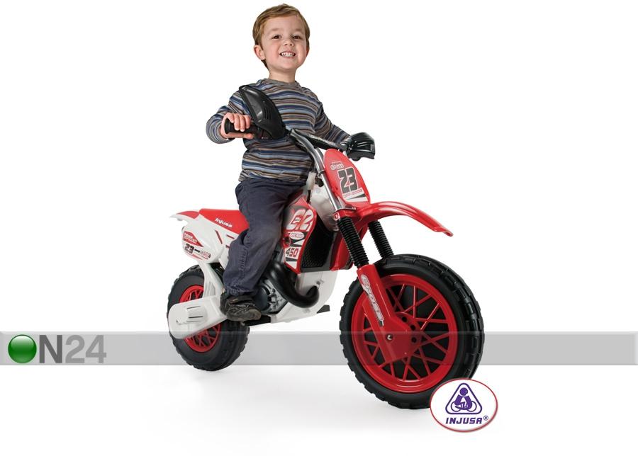 Sähkömoottoripyörä INJUSA CR CROSS RC 75402  ON24 Lasten maailma